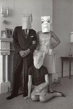 """Masquerade"" Saul Steinberg, photos Inge Morath."