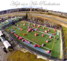 High as a Kite Productions Portland Uprising ThrowDown Series. Paintball Sports Park Washington State 2014