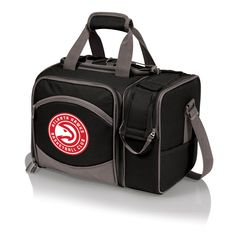 The Atlanta Hawks Malibu Picnic Tote with service for two by Picnic Time