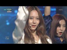 [kbs world] 뮤직뱅크 - 에프엑스, 신비로움 풍기는 유니크한 무대 '4 Walls'.20151106