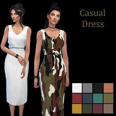 Marigold Casual Dress – Leosims.com