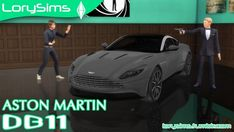 Lory Sims: Aston Martin DB11 • Sims 4 Downloads  Check more at http://sims4downloads.net/lory-sims-aston-martin-db11/