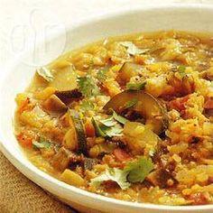 Indiase dhal met rode linzen en groenten @ allrecipes.nl