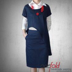 bluza office decupata pe rotund Sewing Blouses, Shirt Dress, T Shirt, Cardigans, Handmade, How To Wear, Fashion Design, Inspiration, Dresses