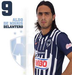 Jesús Aldo de Nigris Guajardo. Fecha y lugar de nacimiento: 22 de julio de 1983. Monterrey, NL., Fecha de debut: 3 de agosto de 2002.