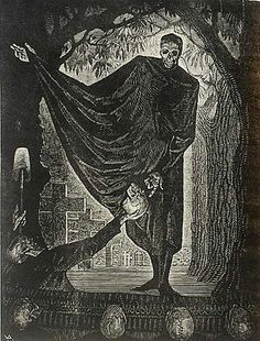 To Be Or Not To Be - VICTOR DELHEZ - wood engraving