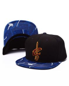 d58a13e4d619bf Mitchell & Ness - Cleveland Cavaliers Team Color Stroke Camo Snapback Hat  Cavaliers Team, Ball
