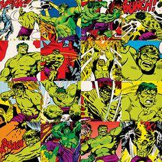 East Urban Home Marvel Comics Hulk Grid Graphic Art on Canvas Size: