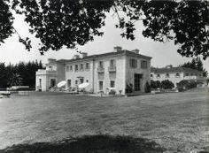 Huguette Clark's Bellosguardo estate in Santa Barbara circa 1940. The property was built as a summer home for Huguette and her mother.
