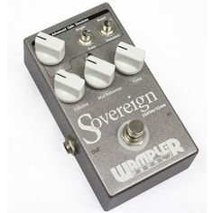 Wampler Sovereign Distortion - this distortion pedal is a new inclusion in the 2016 Best Distortion Pedals