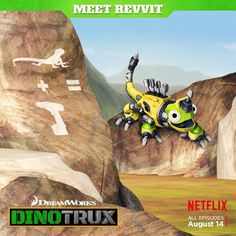 Revvit is a character from the Netflix TV series Dinotrux.