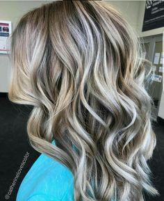 720 Likes, 16 Comments - Michigan Balayage Hair Color And Cut, Ombre Hair Color, Balayage Hair, Blonde Hair Lowlights, Haircolor, Love Hair, Hair Highlights, Fall Hair, Hair Looks