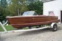 I love wood boats