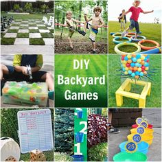 We are always looking for some fun and easy DIY Backyard Games and cannot wait to give some of these a try!