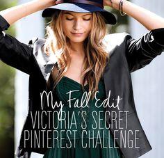 Pinterest Fall Fashion Challenge at Victoria's Secret