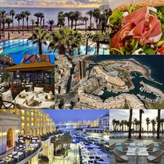Set on the seafront in Saint Julian's, the Hilton Malta is a luxury hotel offering panoramic views of the Mediterranean Sea and a modern décor. Mediterranean Sea, Hotel Deals, 5 Star Hotels, Malta, Hotel Offers, Modern Decor, Saints, Luxury, Book