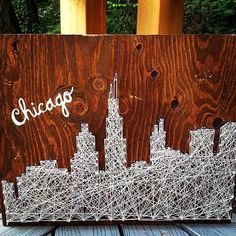 Sky Line of Chicago- I'm doing this for my independent project in art class but with New York!!