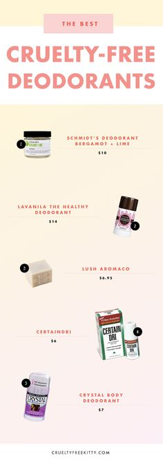 My favorite cruelty-free deodorants that actually work!