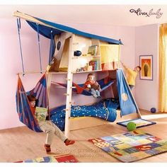 the boo and the boy: Cool kids' beds from Viva baby