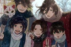 DSiqZs3UEAEcPTl Mutsunokami Yoshiyuki, Nikkari Aoe, Magic Kaito, My Hero Academia Manga, Touken Ranbu, Anime, Manhwa, Illustration Art, Game Art