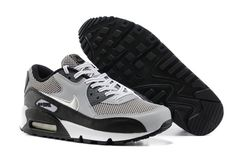 56f482fd5ac7 Nike Air Max 90 LE GS Wolf Grey Metallic Silver Dark Grey Black Air Max 90