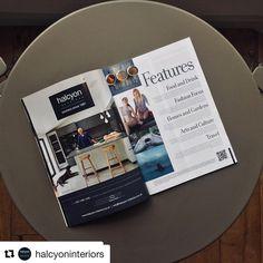 A recent print advert we created for Halcyon Interiors. Serif, Print Ads, Advertising, Polaroid Film, Interiors, Graphic Design, Marketing, Create, Blue