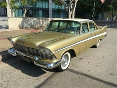 1957 Plymouth Belvedere at auction Classic Car Garage, Classic Cars, Vintage Cars, Antique Cars, Plymouth Cars, Plymouth Belvedere, Chrysler Cars, Ford Fairlane, Old Cars