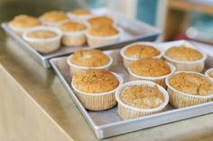 Lemon muffin con semi di papavero #poppyseed