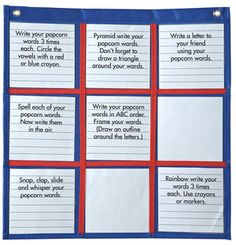 Differentiated Choice Board -- Pocket chart to create instant differentiated activities. Grid allows for activities from all of the multiple intelligences to be included within one framework. Flipped Classroom, Classroom Fun, Classroom Organization, Classroom Management, Teaching Biology, Teaching Tools, Creative Teaching, Teaching Strategies, Teaching Ideas