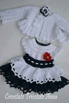 fc0f7d634 فستان اطفال كروشيه للطلب ٠١٢٠٧٥٥٦٧٠٠ Crochet Bebe, Crochet For Kids, Knit  Crochet, Crochet