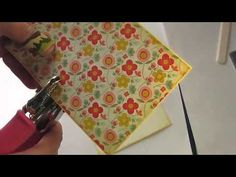 ▶ Fold Up Album Tutorial - Flat pocket Style - YouTube