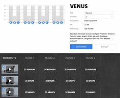 Freeletics Venus - Workout im Überblick