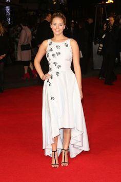 The Hunger Games: Mockingjay Part 1 World Premiere - Arrivals  Featuring: Jennifer Lawrence Where: London, United Kingdom When: 10 Nov 2014 Credit: Lia Toby/WENN.com