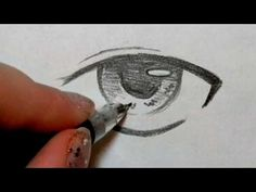 How to draw Anime eyes 5 different ways.