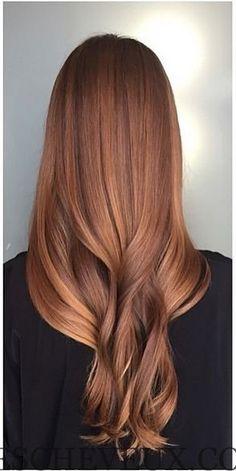 Sun Kissed Auburn cheveux