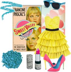 """Sweet Valley High "" by litcon ❤ liked on Polyvore"