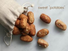 """Faux sweet """"potatoes"""" are made from cream cheese, butter and sugar and are the perfect """"fake out"""" for St. Patrick's Day (and April Fool's too)!"""