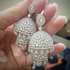 Vir Jewels cttw Certified Diamond Stud Earrings White Gold with Screw Backs – Fine Jewelry & Collectibles Indian Jewelry Earrings, India Jewelry, Wedding Jewelry, Fine Jewelry, Gold Jewelry, Jewelry Making, Fashion Jewelry, Women Jewelry, Schmuck Design