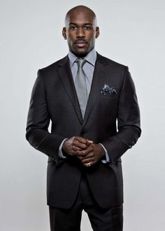 "Dolvett Quince of the show ""The Biggest Loser"" cleans up quite nicely."