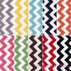 Chevron by Riley Blake.  comes in some very yummy colors.