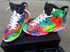Custom made Jordan 6s