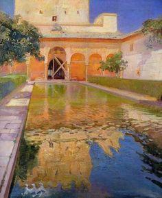 Jose Maria Lopez Mezquita Patio de los Arrayanes