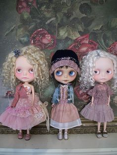 Trio of Petite Wanderlings..... by simplychictiques