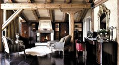 Exclusive deluxe Verbier ski lodge with full catering and beauty spa