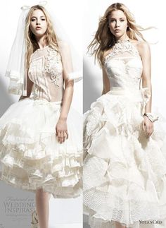 Top 2 picks from YolanCris 2013 Wedding Dresses Chelsea Girl Bridal Collection.