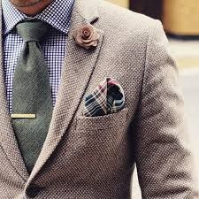 details Tie from Tie clip from Pocket square from Lapel flower from ————————————————- For sartorial secrets and all things dapper. Sharp Dressed Man, Well Dressed Men, Mens Fashion Suits, Mens Suits, Fashion Vest, Fashion Clothes, Suit Men, Fashion Hoodies, Plaid Fashion