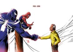 "RIP Stan Lee ""I used to be embarrassed because I was just a comic-book writer while other people were building bridges or going on to medical careers. And then I began to realize: entertainment is one of the most Marvel Comics, Marvel Funny, Marvel Heroes, Marvel Avengers, Marvel Venom, Stan Lee, Comic Manga, Comic Art, Comic Books"