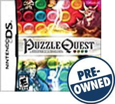 Puzzle Quest: Challenge of the Warlords — PRE-Owned - Nintendo DS, 32004