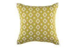 Rafi Green Cushion by KAS