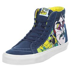 e893ec7164 Beatles Yellow Submarine Vans Sk8 Hi Tops Beatles Vans